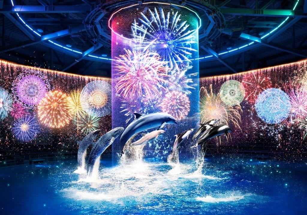 仰天演出で水族館を超えた!「マクセル アクアパーク品川」