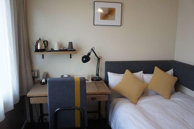 機能的かつアート心たっぷりのお部屋に感激!暮らすように過ごせる空間。