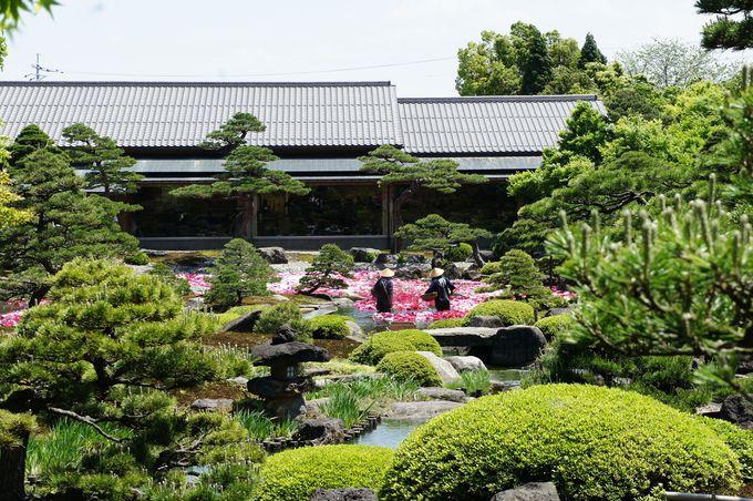 島根県の由志園は、眼にもお腹にもうれしい庭園