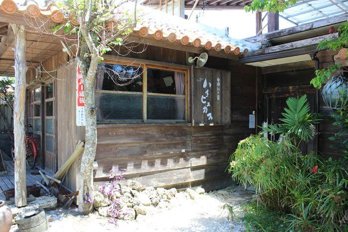 沖縄らしい古民家宿に泊まりたい!今帰仁村「ハイビスカス」