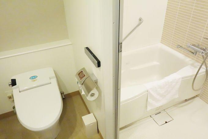 バス・トイレ別の設定や女性専用ルームなど、きめ細かい要望にも対応。