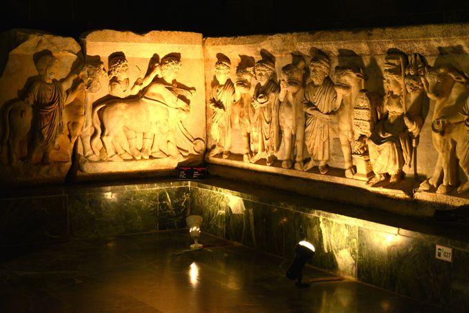一緒に見学しておきたいアンタルヤ考古学博物館