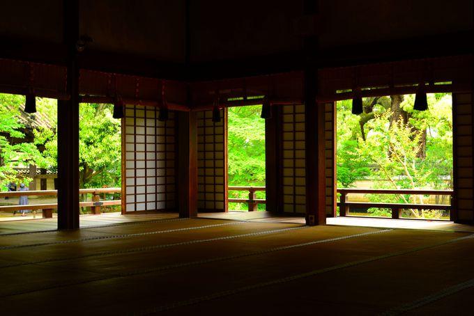 ちょっと優雅に貴族の気分!粟田山の仮御所