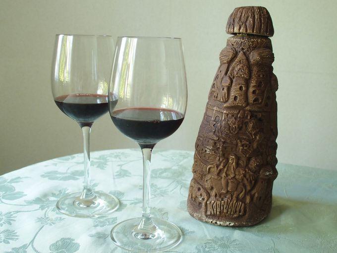 ワイン発祥の地のワインははずせない