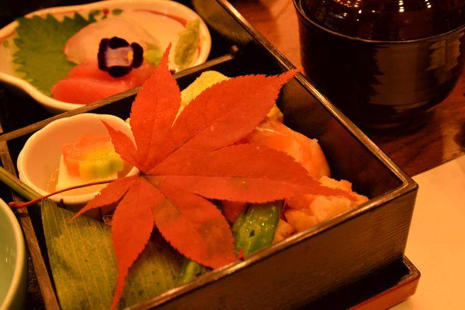 素材を生かした京料理を堪能