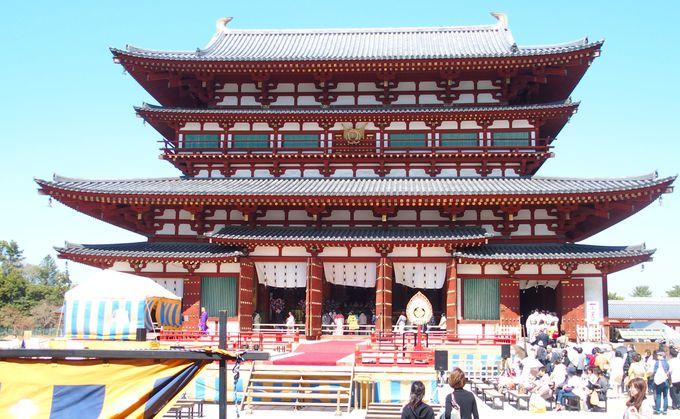 荘厳な祈りと、華やかな美しさをもつ薬師寺の修二会