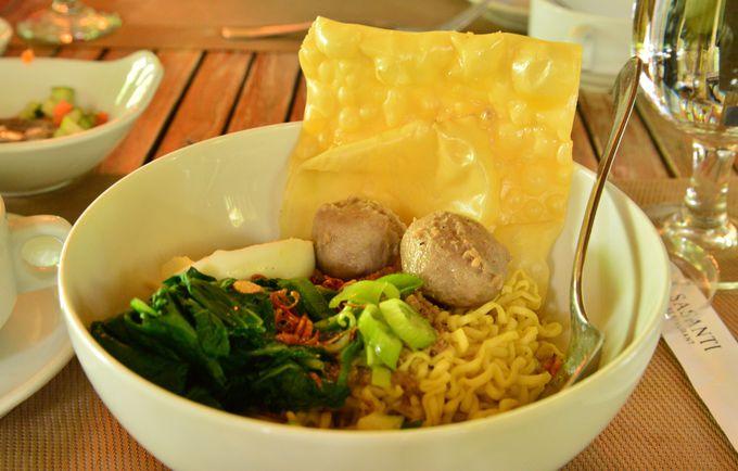 ランチの利用でお勧めしたいのは、伝統をアレンジした麺料理