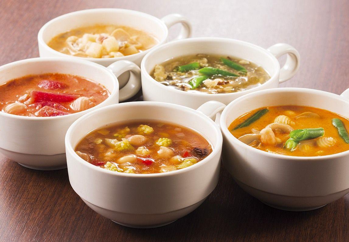 旅の朝に嬉しい、栄養バランスの整ったほっこりスープ