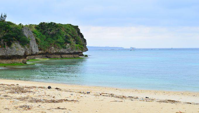 楽々で楽しめる、美しいビーチ