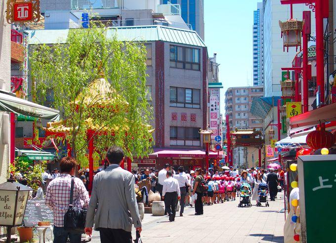 日本三大中華街の一つ、南京町