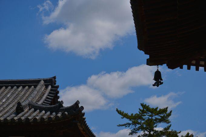 緑麗しい、西ノ京の「み寺」