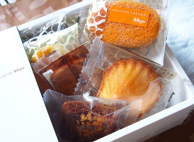 「ファクトリーシン」の焼き菓子詰め合わせ