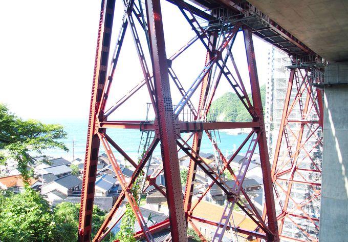 架け替えられた鉄橋