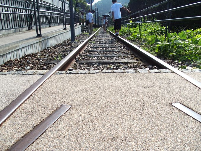 歩ける余部鉄橋跡