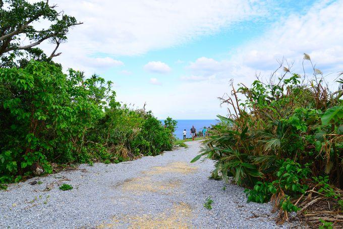 沖縄の言葉で「幸せ岬」から眺める壮大なパノラマ