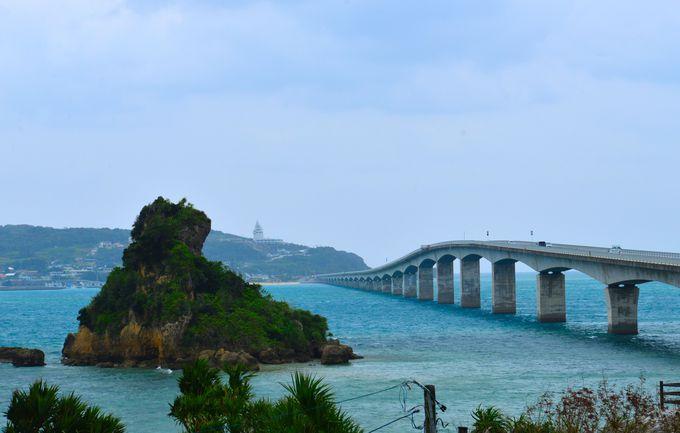 絶景の橋の一位に選ばれた「古宇利大橋」