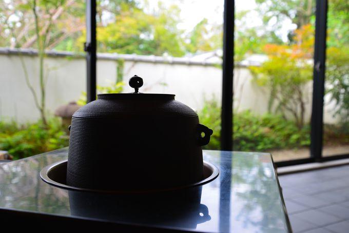 さりげない茶の世界への お・も・て・な・し