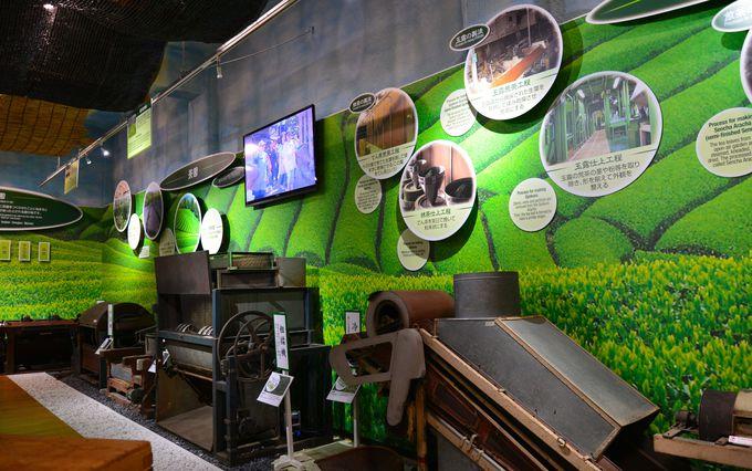 石臼での抹茶作りに、茶もみに、作陶…茶に関する体験工房も