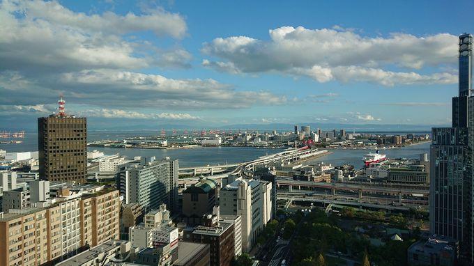 神戸の中心「三宮・海側」