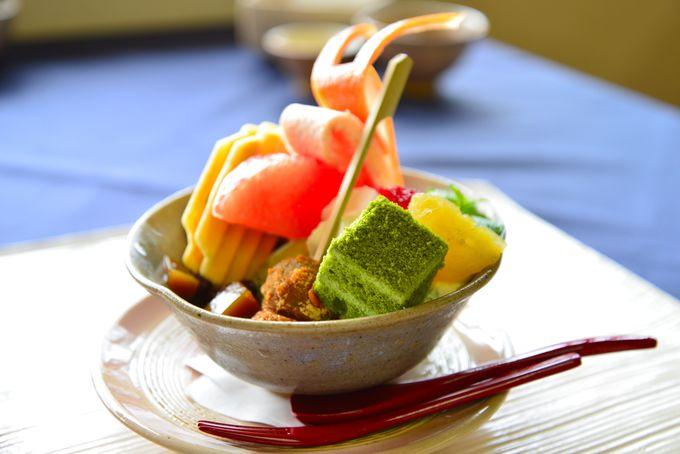 昼食:「福寿園宇治茶工房」でお茶ランチ