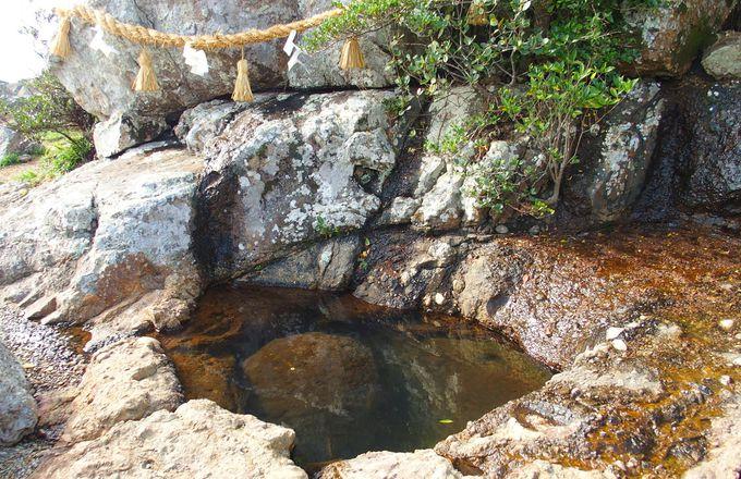 スケール日本一の「さざれ石」群