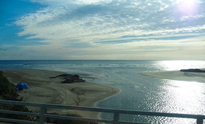 日向灘を一望する大御神社