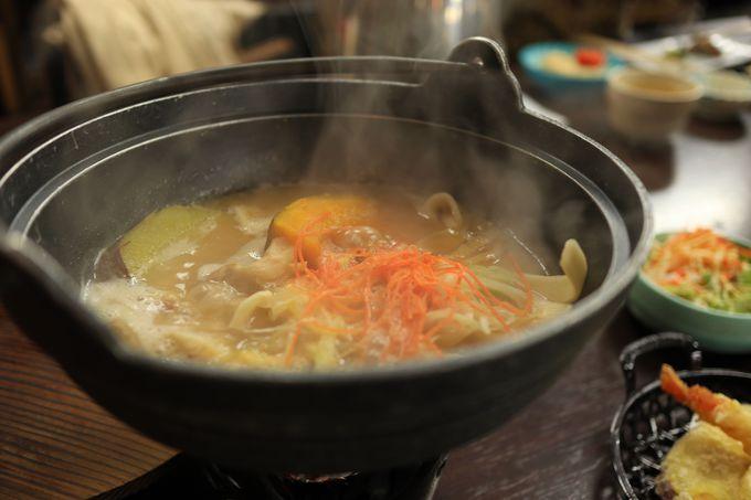 味わえる山梨の郷土料理