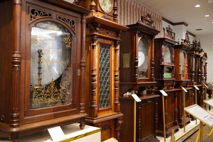 2階の展示室で世界のオルゴールの豊かな音を
