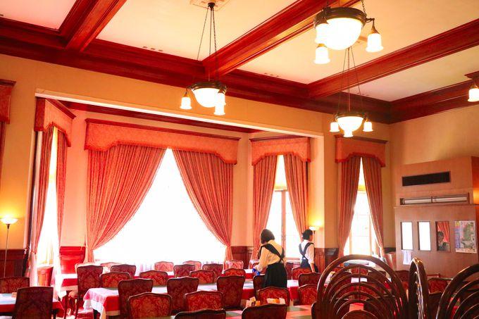 ランチにお勧め 気品と豪華さを兼ね備えたレストラン