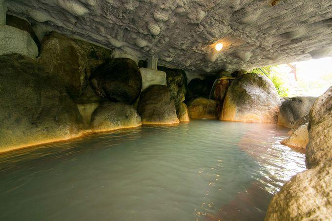ホテルの自慢、ここだけの超深層水温泉!