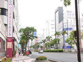 国際通りそば「リッチモンドホテル那覇久茂地」で盛り沢山沖縄