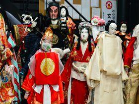 そこは江戸の芝居小屋…「淡路人形座」で気軽に伝統文化