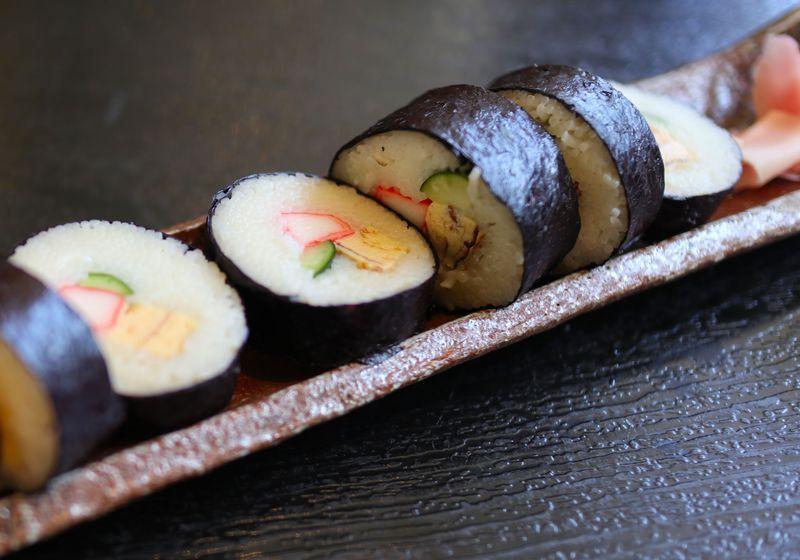 一年中お勧め!揖保乃糸「そうめんの里」で そうめんの巻き寿司
