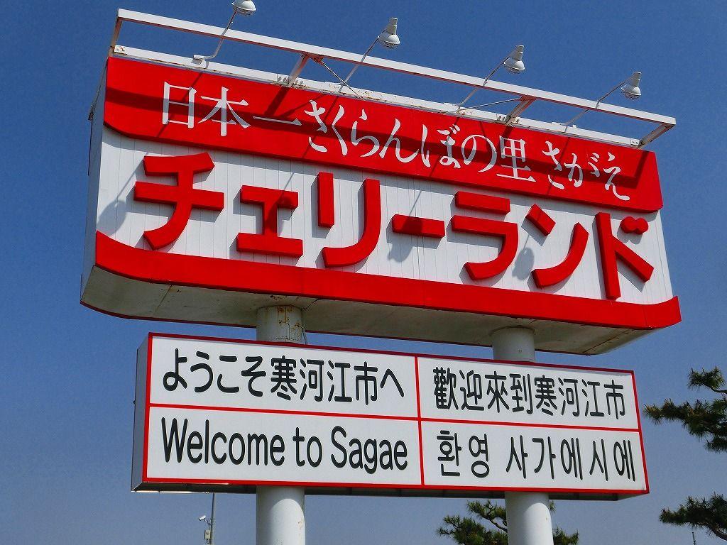 日本一のさくらんぼの里「寒河江」