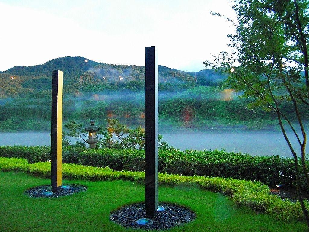 神通峡沿いのアートウォークは感嘆の連続
