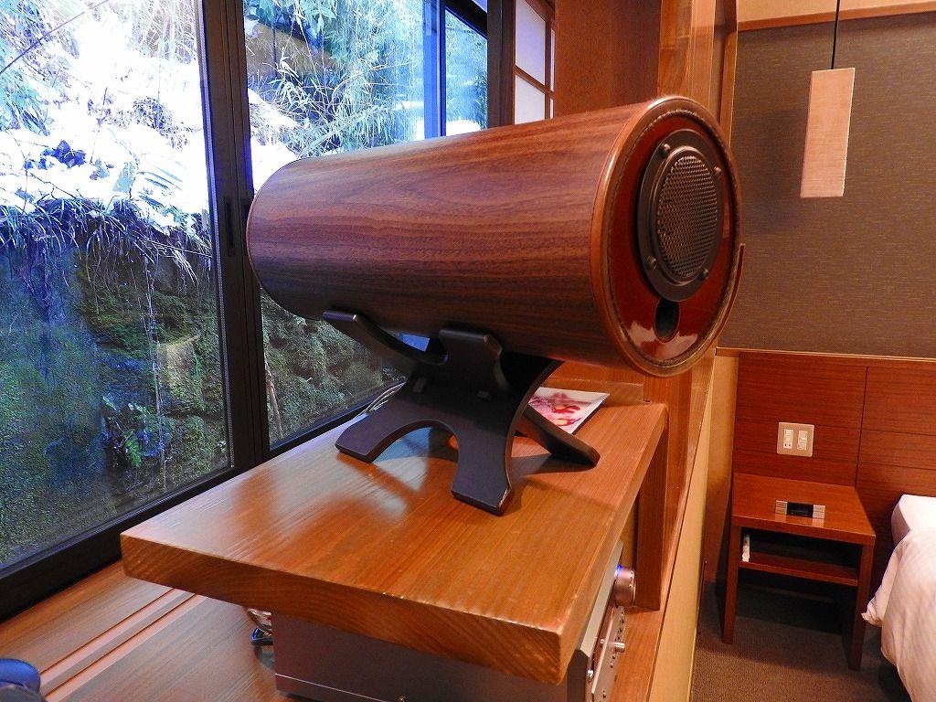 そしてスイート2室限定の特別料理&音のシャワー!