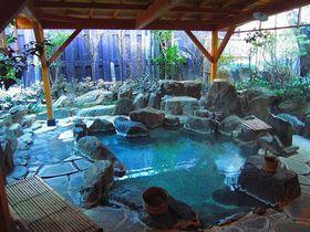 ウソでしょ?巨大すぎる客室露天!福島岳温泉「お宿花かんざし」