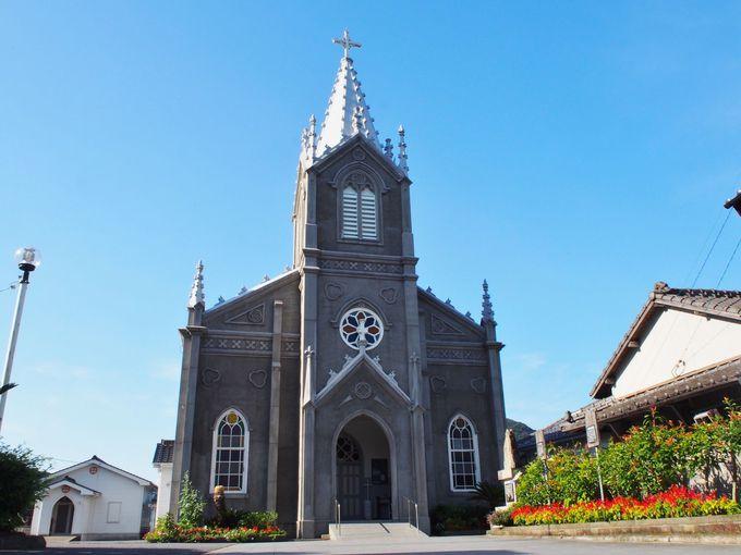見所2:集落の中心「崎津教会」