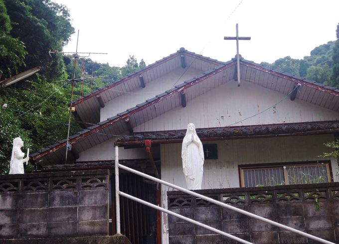 見所1:禁教の歴史残す山側