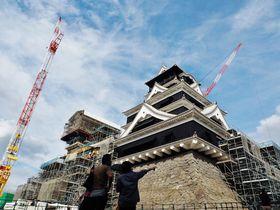 熊本城・地震から現在!2019年10月から大天守・特別公開