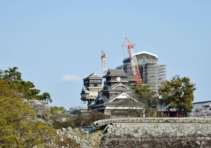 9.復興途中の日本三名城「熊本城」
