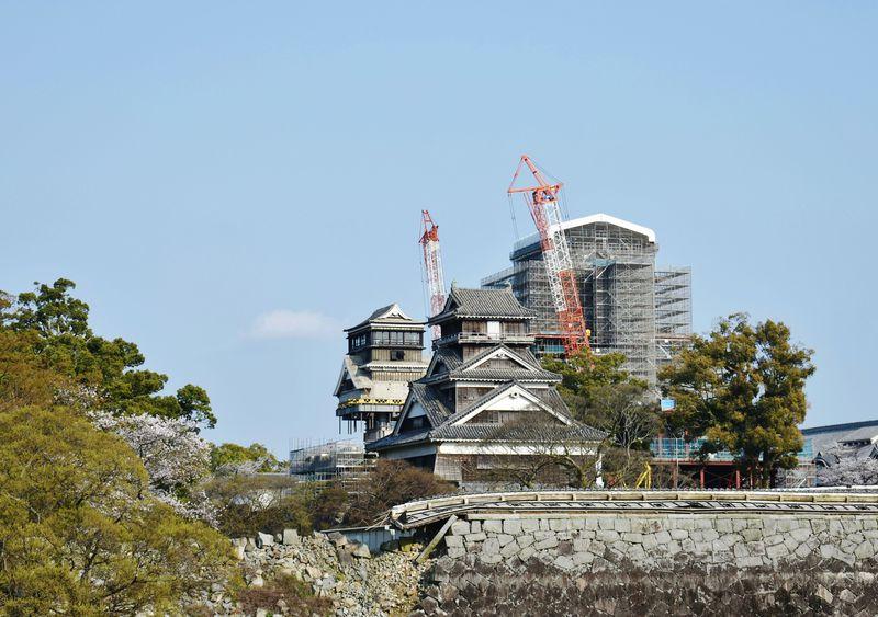 熊本城・地震から現在!見せる復...