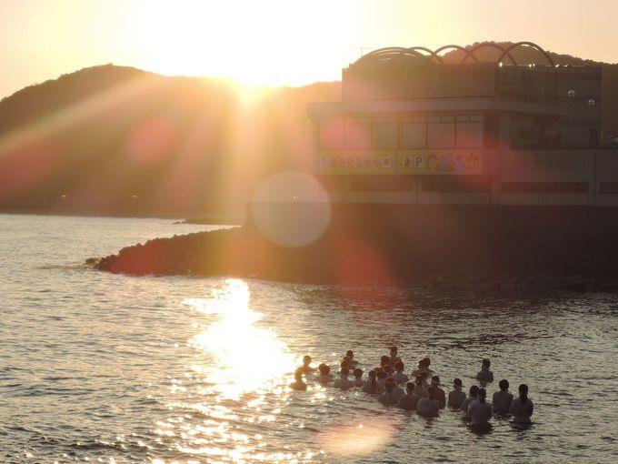 禊の場「二見輿玉神社」まで歩いて3分!神々しい光景がみれるかも。