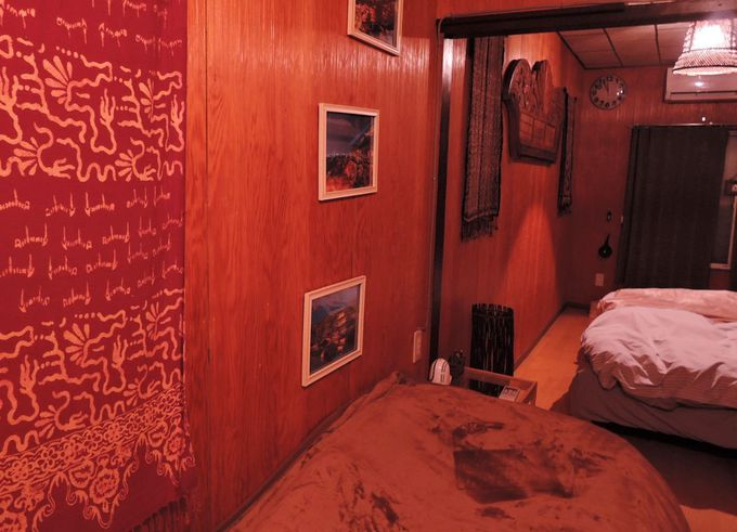 ベッドルームは2階!それぞれのペースで就寝できる気軽さ。
