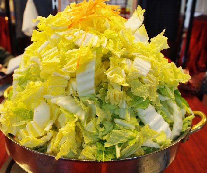 白菜のエベレストや!この盛りは必見!!