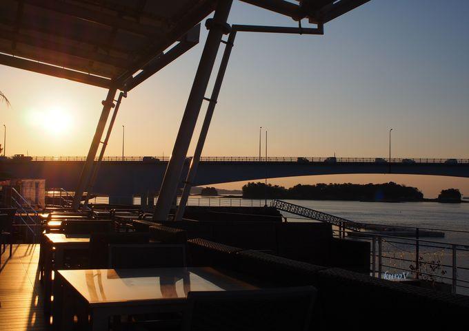 「リゾラテラス天草」から眺める4号橋