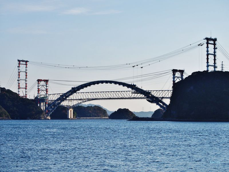 天草五橋ドライブ行くなら今!橋も架橋中、絶景スポット5選