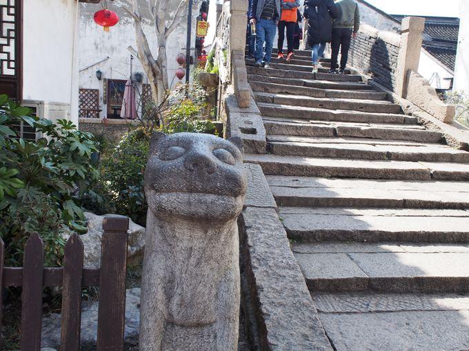 山塘街を歩くとこのゆるさが日本人好み〜!