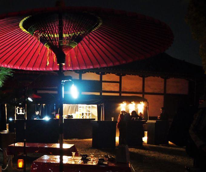 日本を味わう!「お茶席」「日本酒BAR」