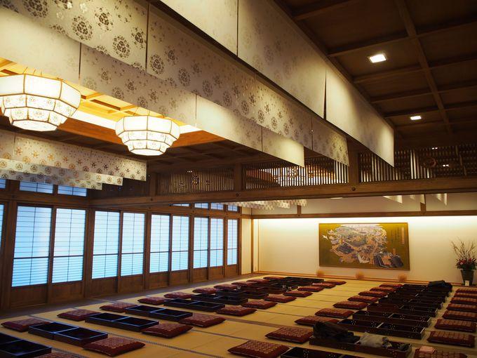 約60畳の大広間や個性的な個室もいい!